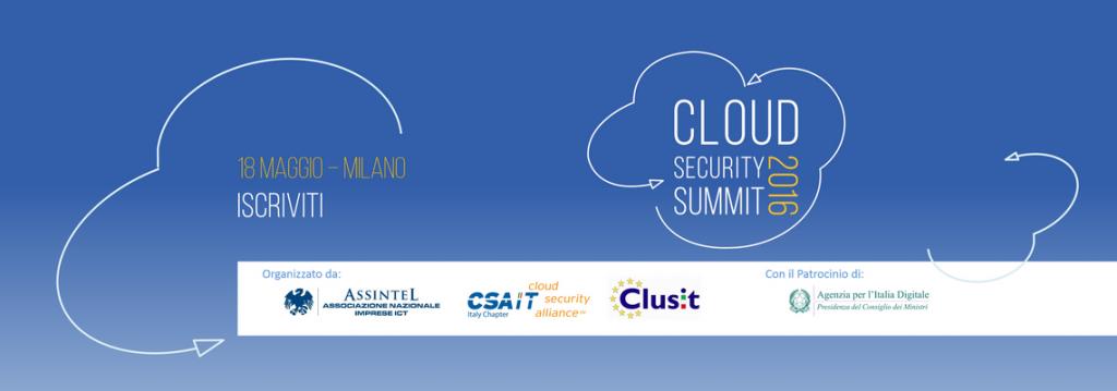 cloud security summit 2016