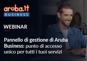 Webinar Pannello di gestione Aruba Business